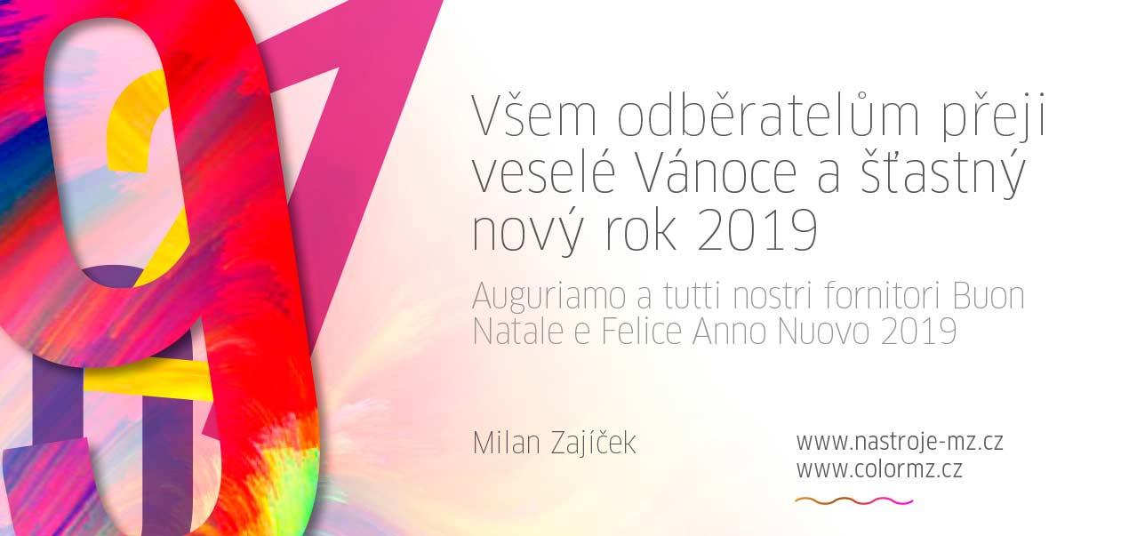 Barvy laky IVE PF 2019