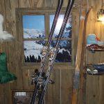 Interiér prodejny - lak patinace IVE