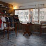 Interiér prodejny - patinováno lakem IVE